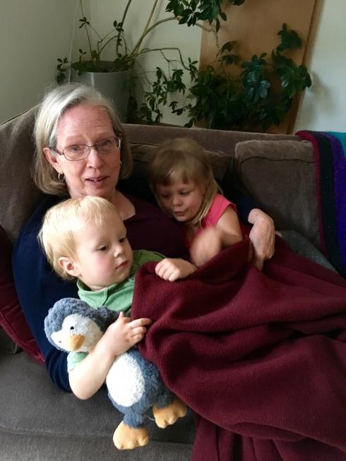Grandma cuddle puddle
