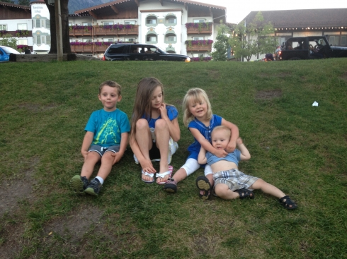 Cousins in Leavenworth