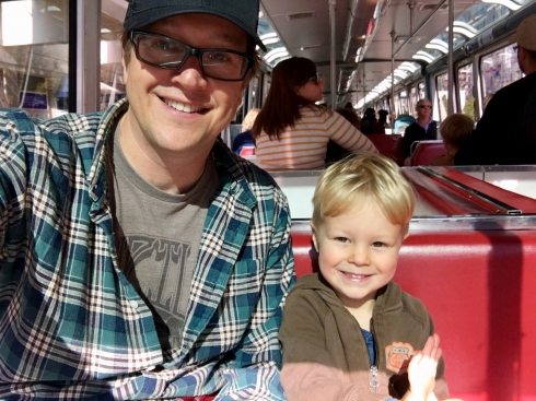 Special Father and Son Trip Downtown