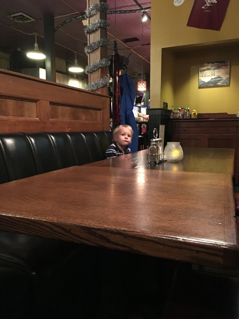 Small Boy, Big Table