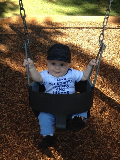 First Swing