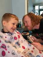 Haircut with Sean