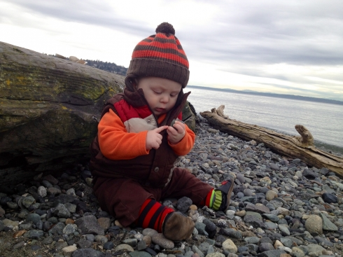 First beach exploration