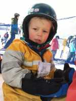 First Day Skiing
